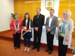 Víťazka Hrebendovej kapsy Nicol Hochholzcerová