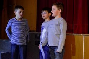 Na scénu prichádzajú postavy z mojej knižky Čo baby nedokážu: Maťo, Braňo a Paľo Hrušiak :)