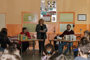 Pani Renáta Hlivková v akcii :)
