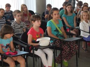 Druhá skupina detí sa na besedu starostlivo pripravila