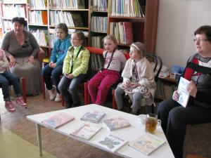 V Krompachoch si čítajú Strelené rozprávky (16. marec 2015)