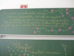 Takto krásne ma privítali v Červeníku :)