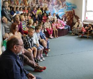 Opäť v príjemnom prostredí oddelenia pre deti a mládež