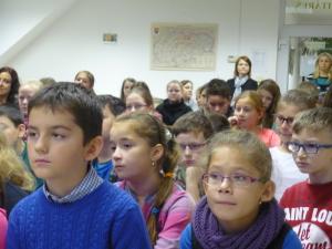 Toto sú žiaci, ktorí radi čítajú :)