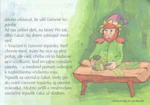 Zvonček, apríl 2013. Ilustroval Ján Mikulčík