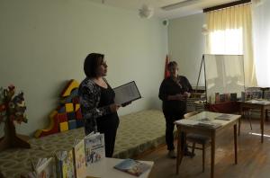 Víta ma pani raditeľka Mgr. Gizela Kubačková