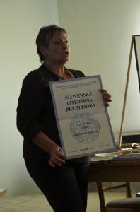 Slovenská literárna prehliadka - prvá súťaž pred 23 rokmi, do ktorej som poslala niekoľko básní. Na vyhodnotenie som nešla, bola práve stužková. Netušila som, že som tú súťaž vyhrala :)