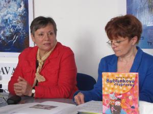 Besedu moderuje pani Tatiana Bachňáková
