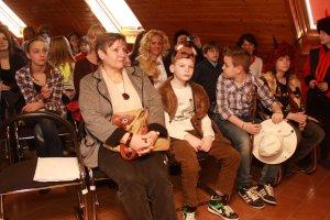 Program otvoril detský divadelný súbor Zauško...