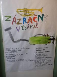 Plagát, ktorý ma víta na dverách triedy :)