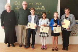 Víťazi 2. kategórie: Norbert Kuzma, Nikolett Kalocsai a Ágnes Fejesová