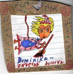 Moja Dominika (Kde pavúky tkajú cukrovú vatu) Od Alžbetky Kolárovej