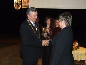 Verejne uznanie primatora mesta maj 2011