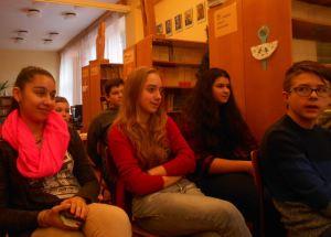 Deti boli na besedu pripravené, prekvapili ma recitáciou a svojimi zvedavými otázkami :)
