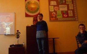 A toto je Ján Štefan Orosz, recitátor, ktorý sa zúčastnil súťaže Dobré slovo - a veru, išlo mu to dobre :)