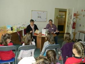 S Klárikou Volentovou z detského oddelenia zvládneme akúkoľvek besedu :)
