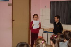 Milý vstup žiakov školy  :)