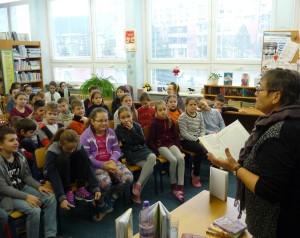 Deti sa všade najviac tešia na čítanie :)