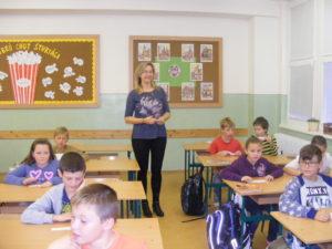 Na všetko dohliada pani učiteľka PaedDr. Jana Bérešová :)